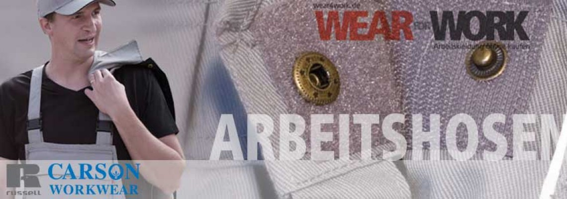 wear4work Arbeitshosen