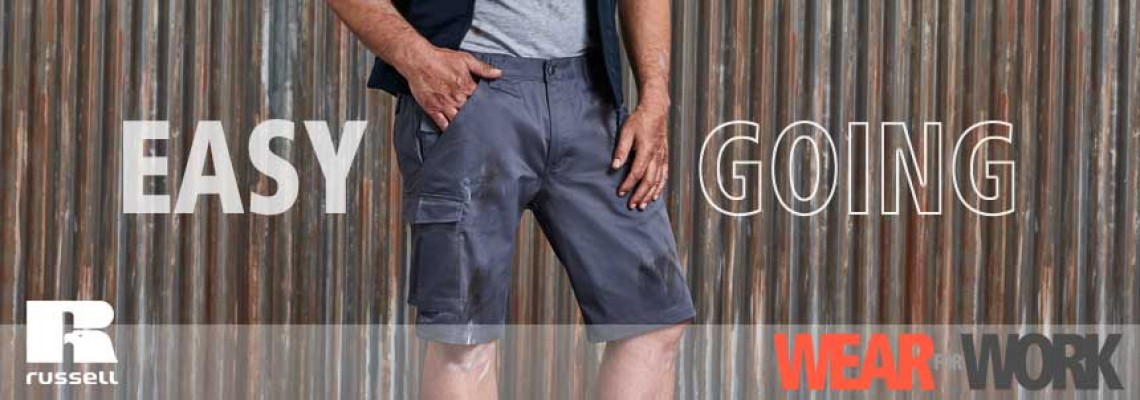 Cargo-Shorts und kurze Arbeitshosen