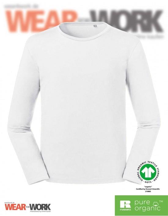 Organic Langarm T-Shirt bei wear4work.de