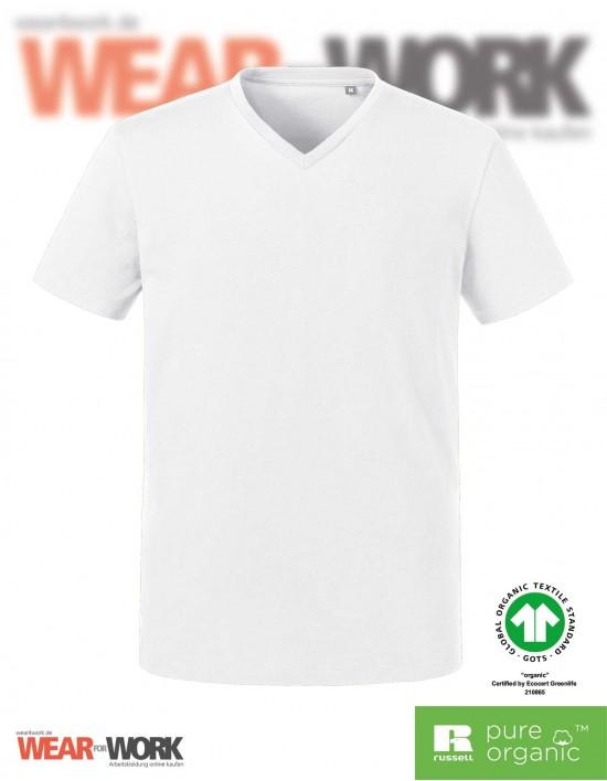 Organic V-Neck T-Shirt Herren