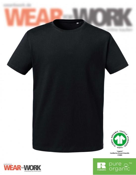Organic Heavy T-Shirt schwarz bei wear4work.de