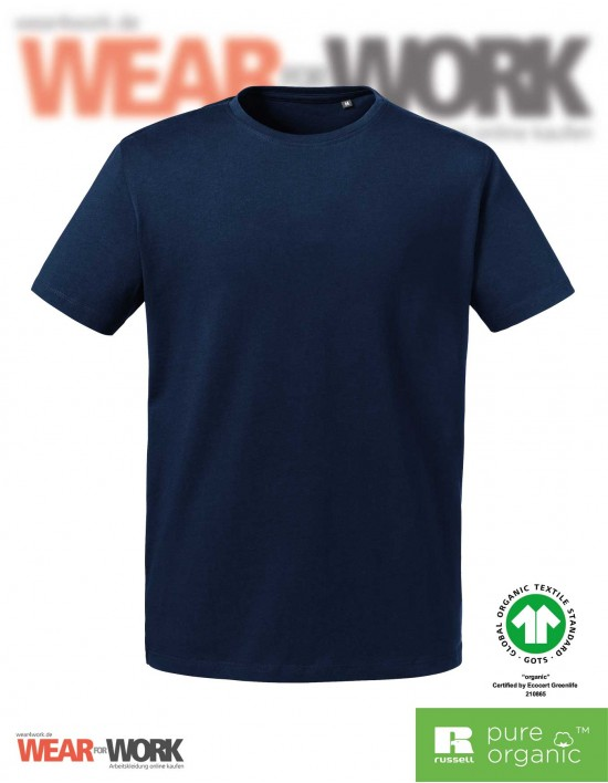 Organic Heavy T-Shirt marine bei wear4work.de