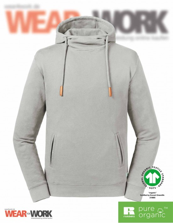 Russell Organic Hooded Sweat