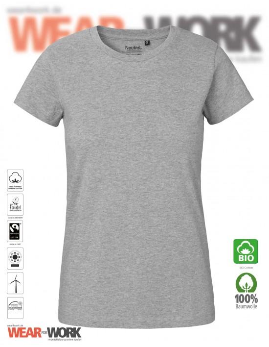 Organic Ladies T-Shirt grau