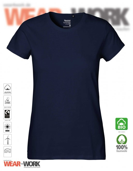 Organic Ladies T-Shirt marine