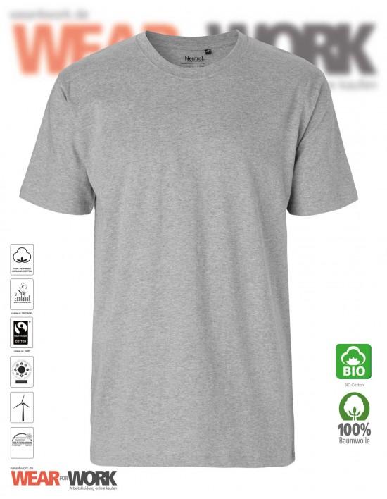 Organic T-Shirt grau