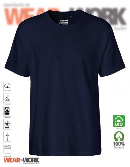 Organic T-Shirt marine