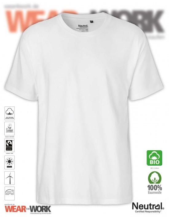 Organic T-Shirt weiss