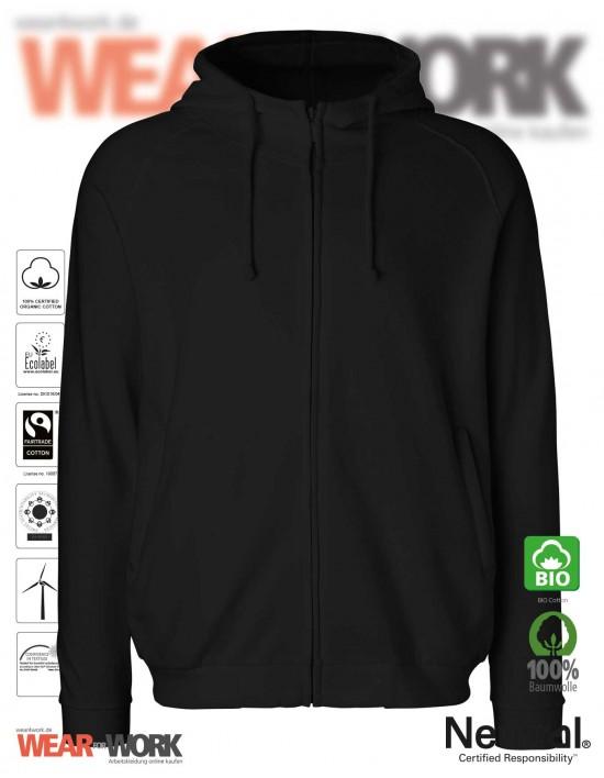 Heavy Organic Hoodie schwarz