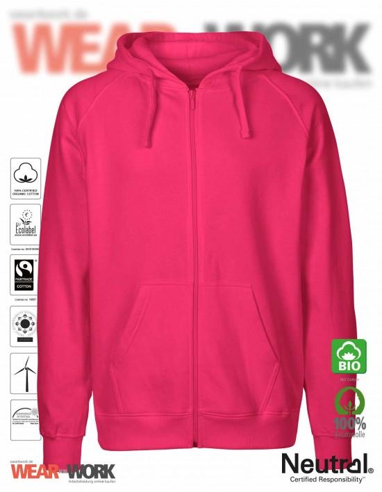 Organic Work Hoodie pink