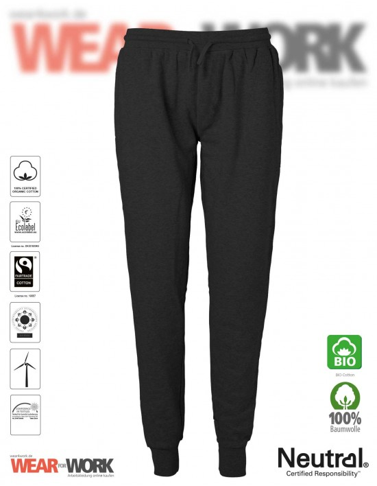 Organic Jogginghose schwarz
