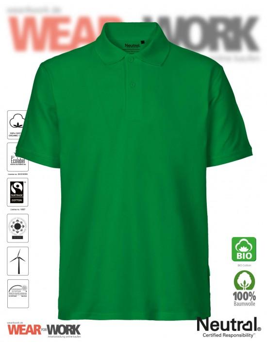 Organic Polo grün