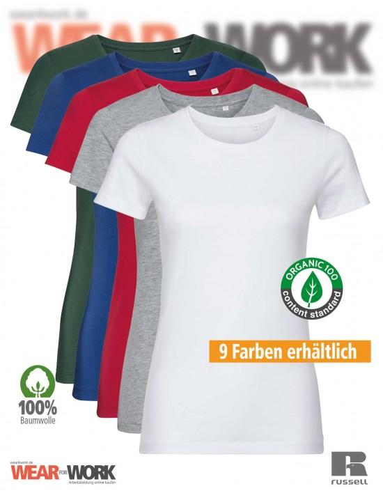 Russell Organic T-Shirt Damen