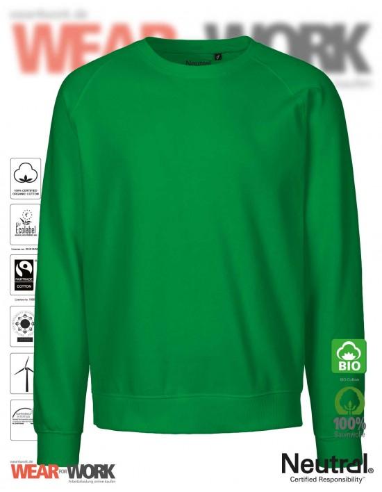 Organic Sweatshirt grün