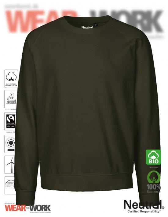 Organic Sweatshirt oliv