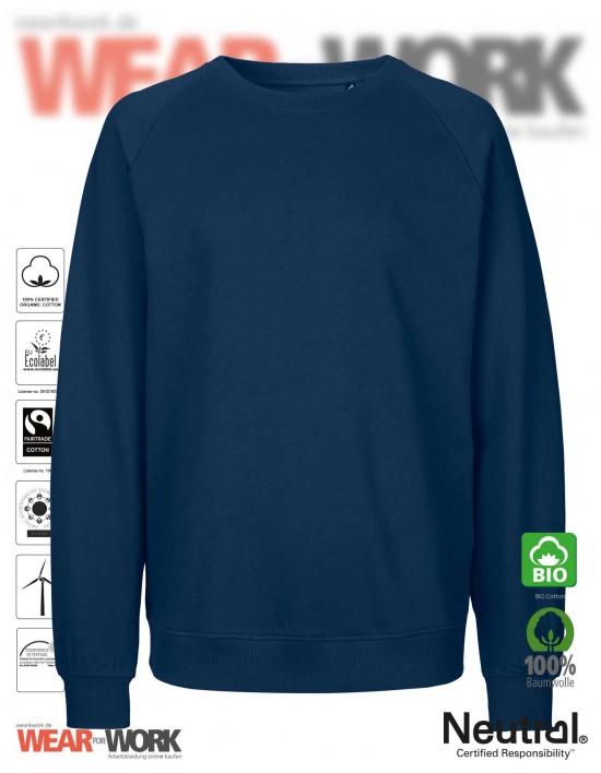 Organic Sweatshirt marine