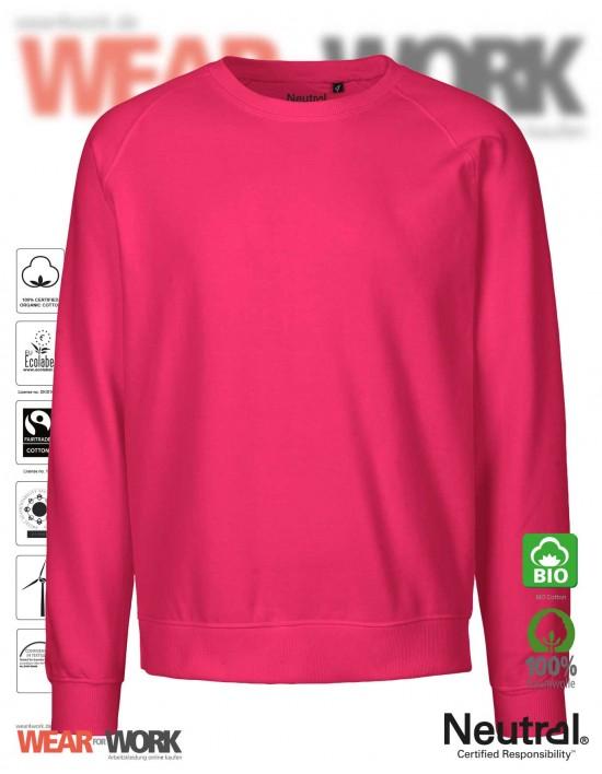 Organic Sweatshirt pink