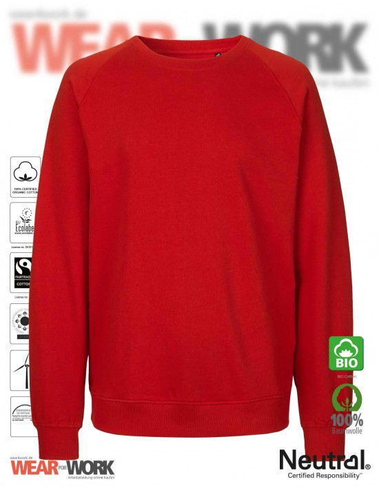 Organic Sweatshirt rot