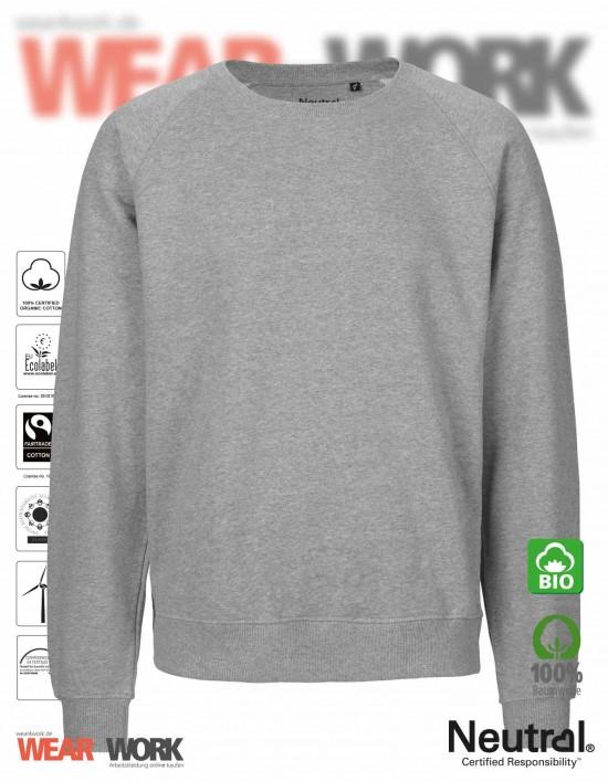 Organic Sweatshirt grau