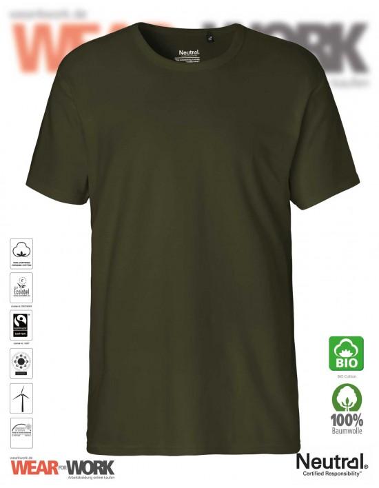 Organic Work T-Shirt olive