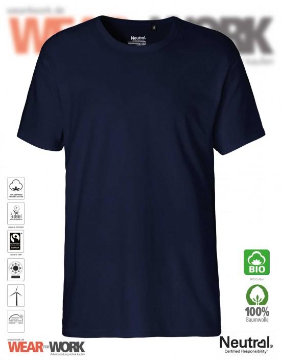 Organic Work T-Shirt marine