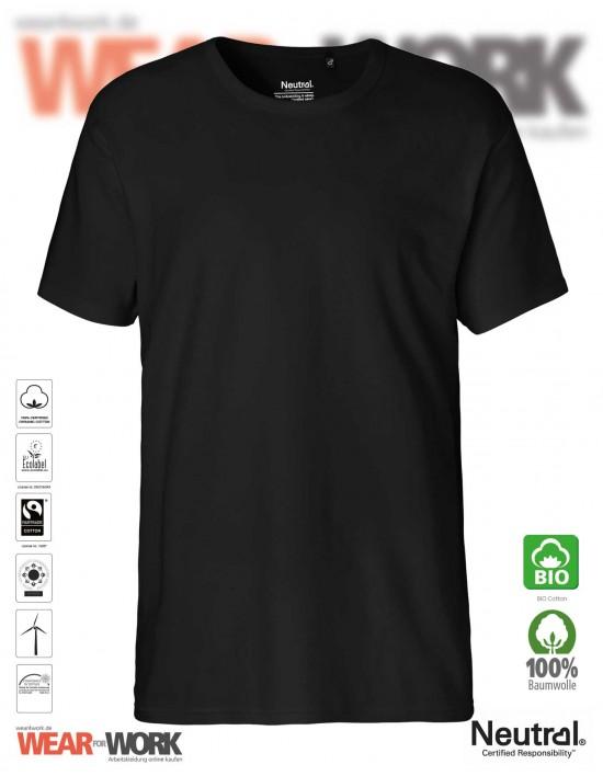 Organic Work T-Shirt schwarz