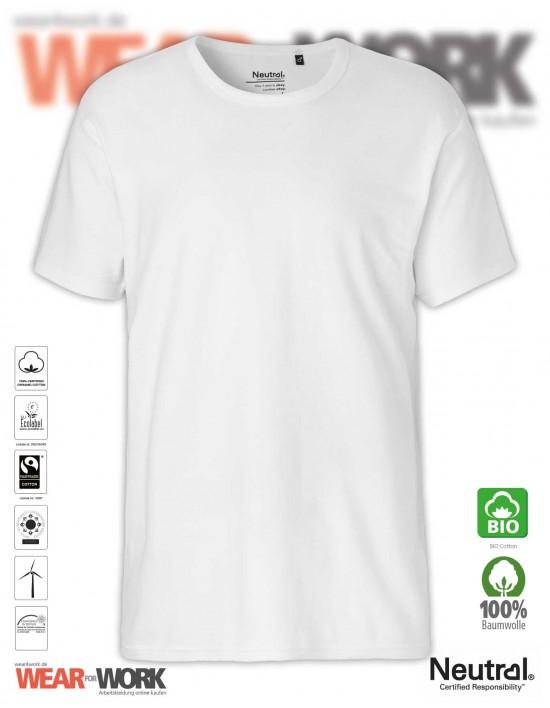 Organic Work T-Shirt weiss