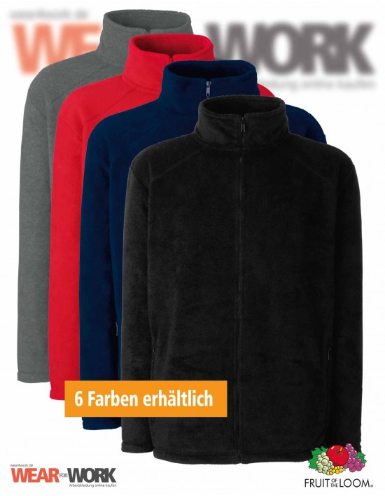 Fleece Jacke Full Zip 62-510-0