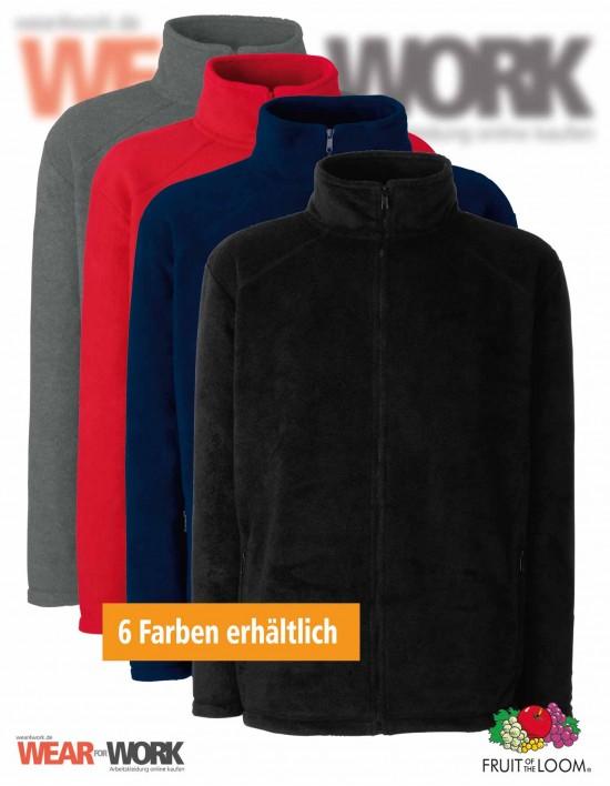 Fleece Jacke Full Zip 62-510-0