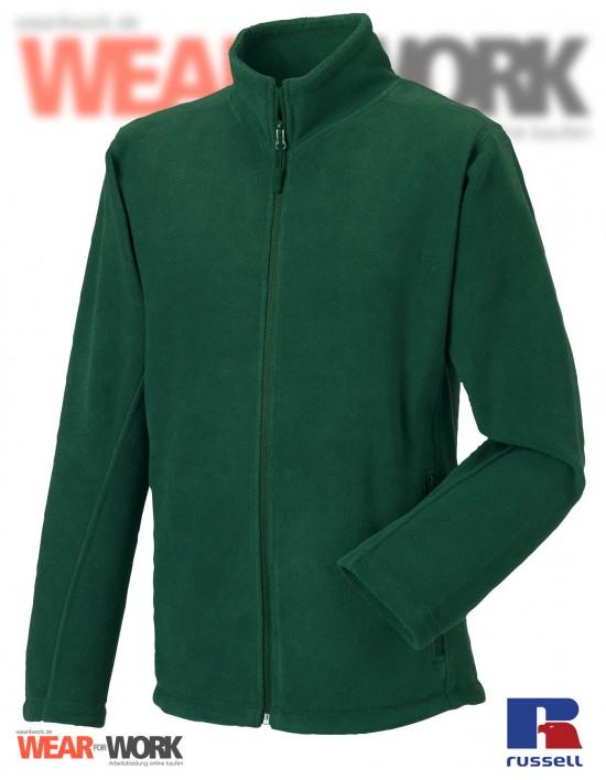 Fleece-Jacke grün R-870M Herren