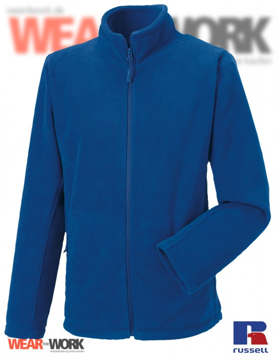 Fleece-Jacke blau R-870M Herren