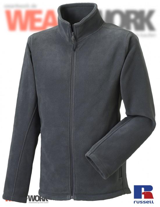 Fleece-Jacke grau R-870M Herren