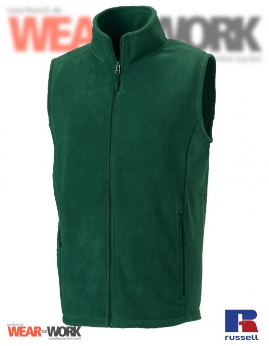 Fleece-Weste grün R-872M Herren