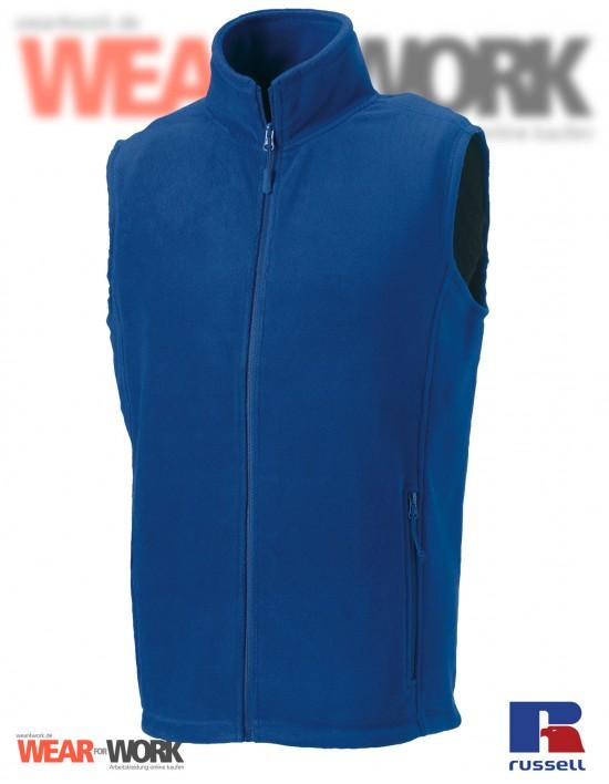 Fleece-Weste blau R-872M Herren
