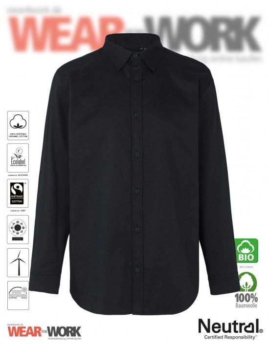 Neutral Bio Hemd schwarz