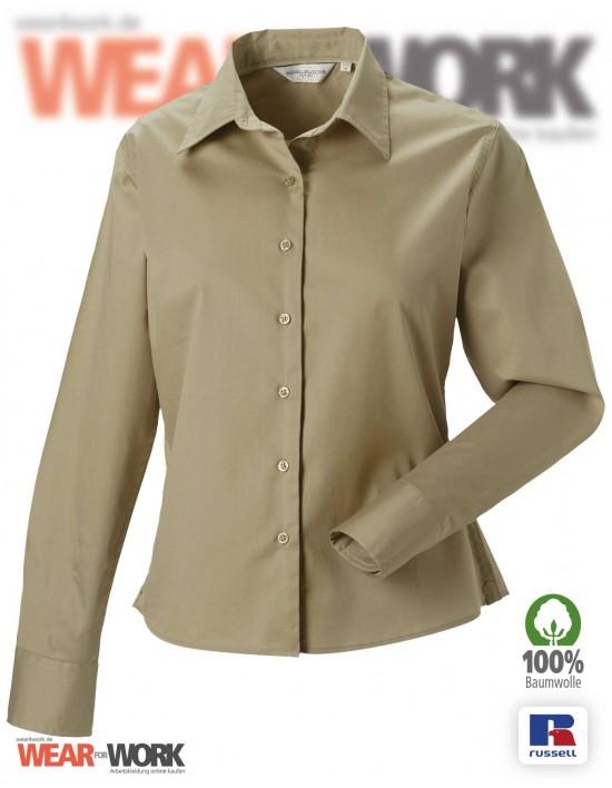 Workwear Bluse R-916F khaki