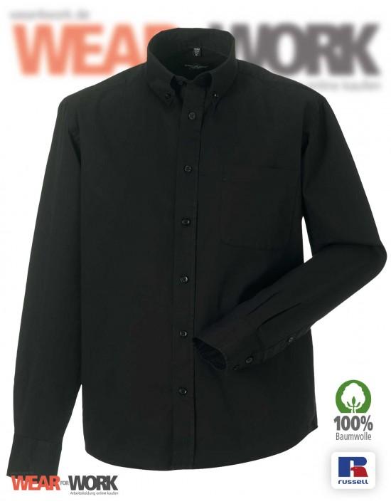 Workwear Hemd R-916M schwarz