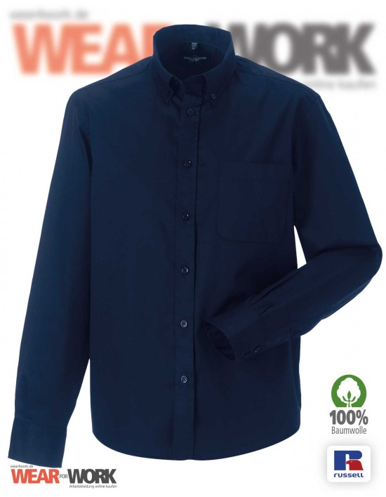 Workwear Hemd R-916M marine
