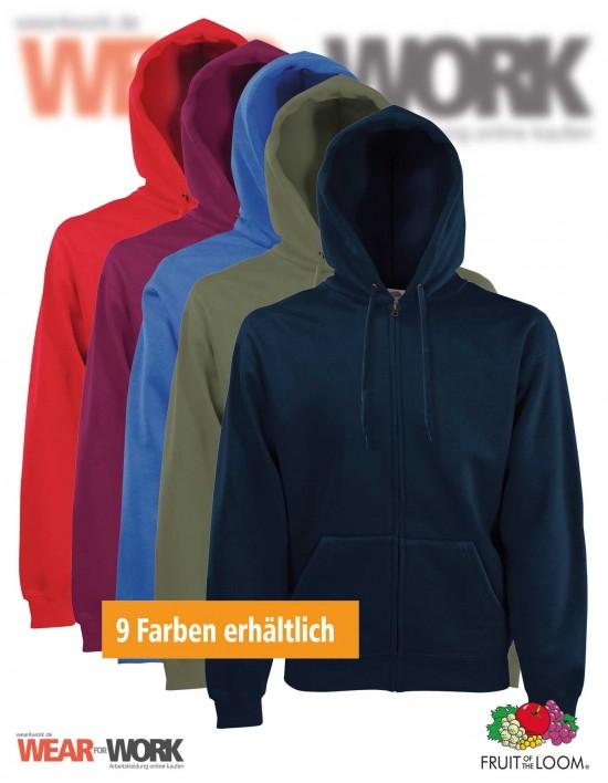 Premium Hoodie Jacke