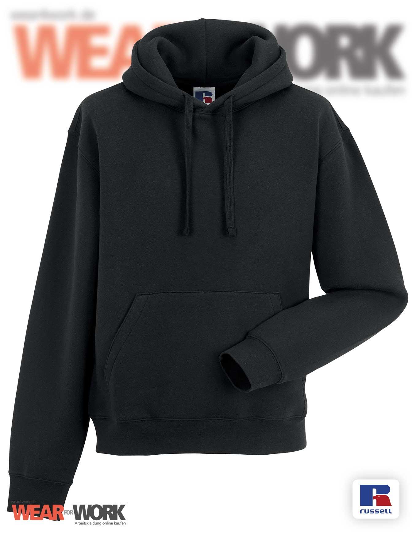 e9744f9937 Hooded Workwear Sweatshirt schwarz   Russell R-265M black