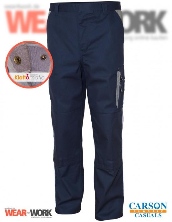 Arbeitshose dunkelmarine/grau CC709H bei wear4work.de