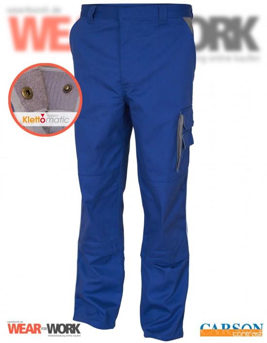Arbeitshose blau/grau CC709H bei wear4work.de