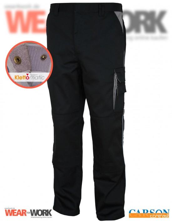 Arbeitshose schwarz/grau CC709H