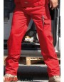 Arbeitshose rot/grau CC709H