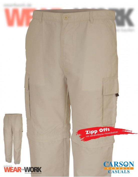 Zipp-Offs sandfarbig CZ1 stone