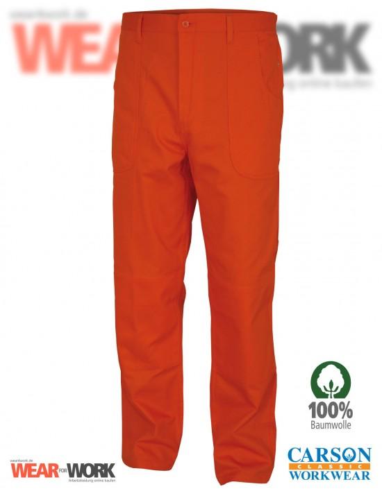 Arbeitshose orange KTH709H