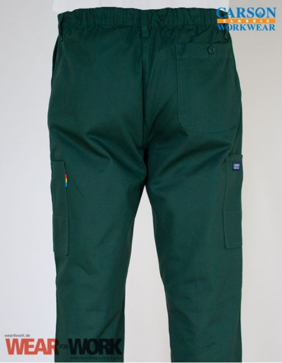 Arbeitshose grün KTH709H