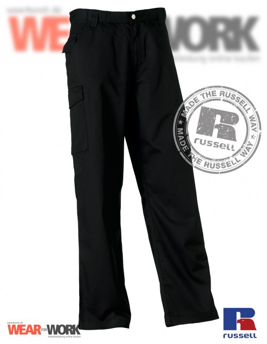 Arbeitshose schwarz R-001 black