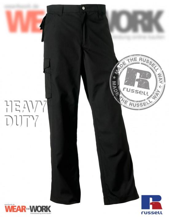 Arbeitshose schwarz Heavy R-015