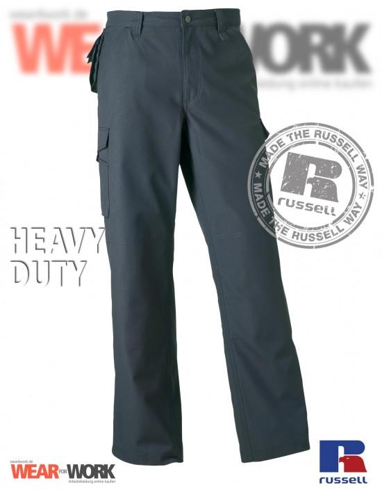 Arbeitshose grau Heavy R-015